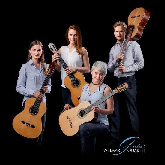 Bild zu Konzert mit dem Weimar Guitar Quartet