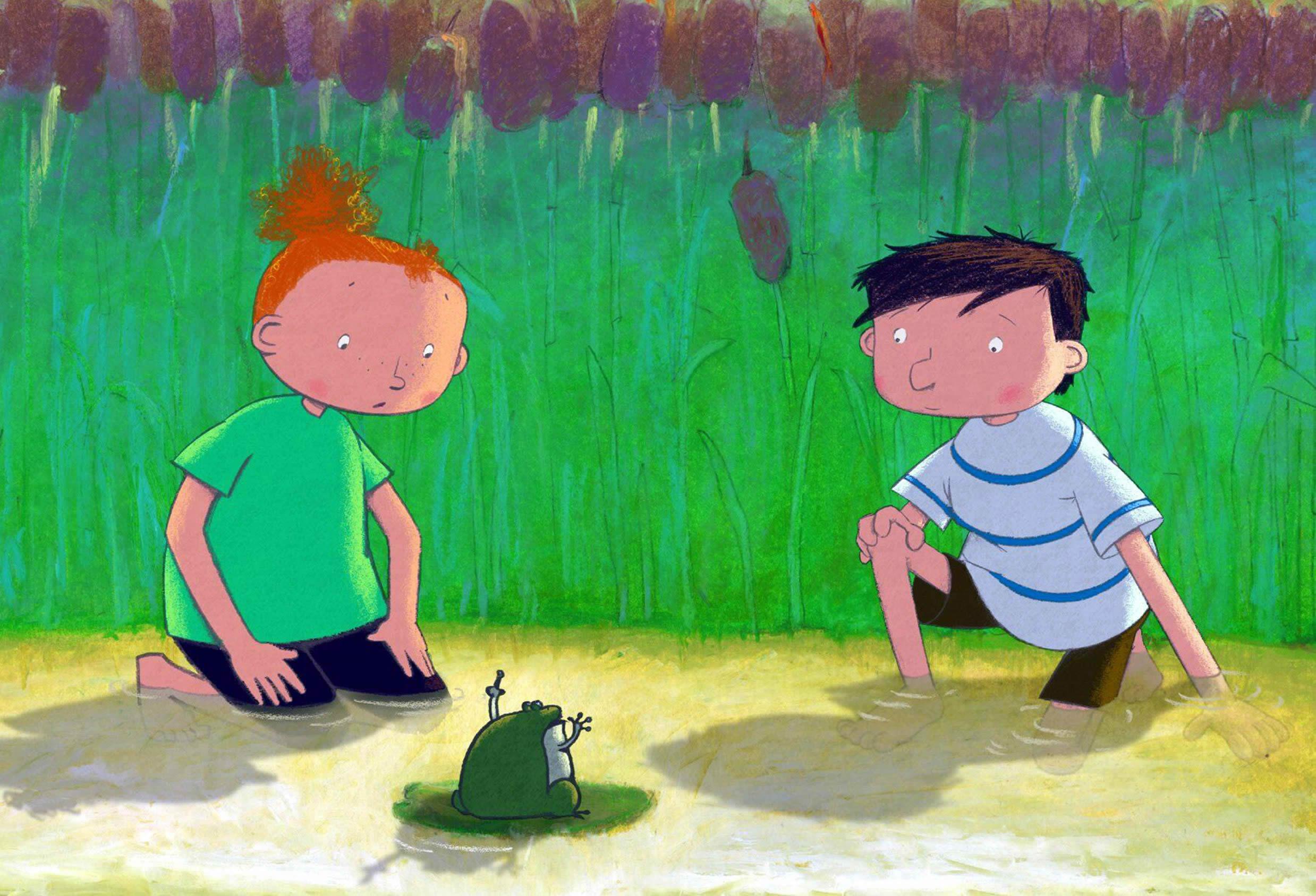 Bild zu Kinderkino: Das Geheimnis der Frösche