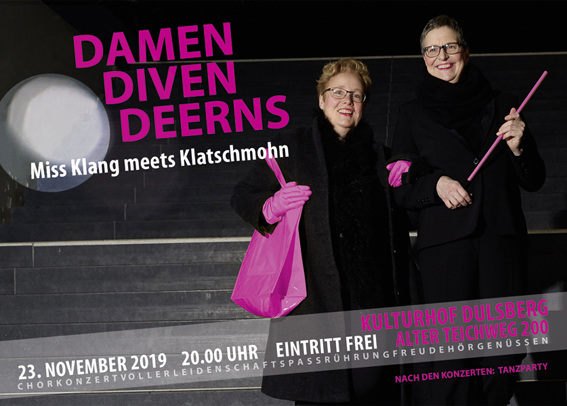 Bild zu Damen Diven Deerns – Miss Klang meets Klatschmohn – Chorkonzert mit anschließender Tanzparty