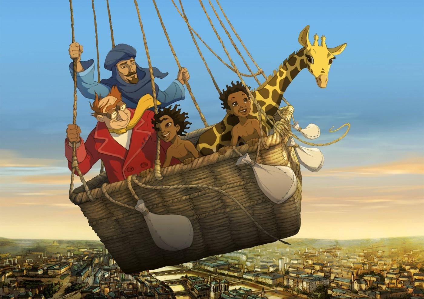 Bild zu Kinderkino: Die Abenteuer der kleinen Giraffe Zarafa